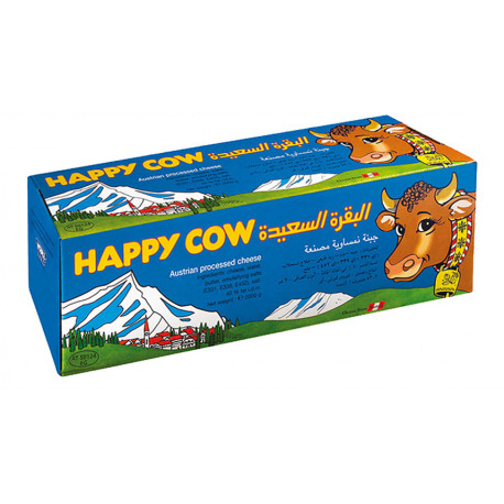 Happy Cow Cheese Block 2kg